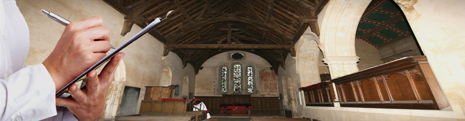 Church and listed building survey